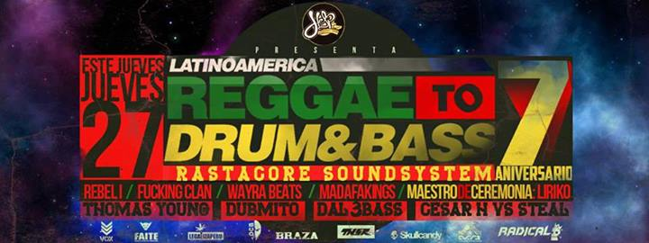 reggae to drum and bass 7