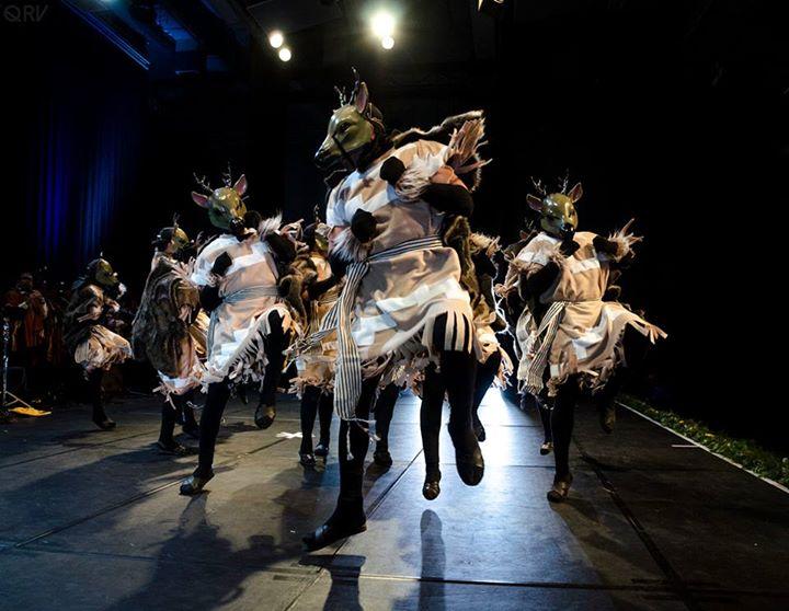 danza Venado CEMDUC foto por Qalin Riveros V