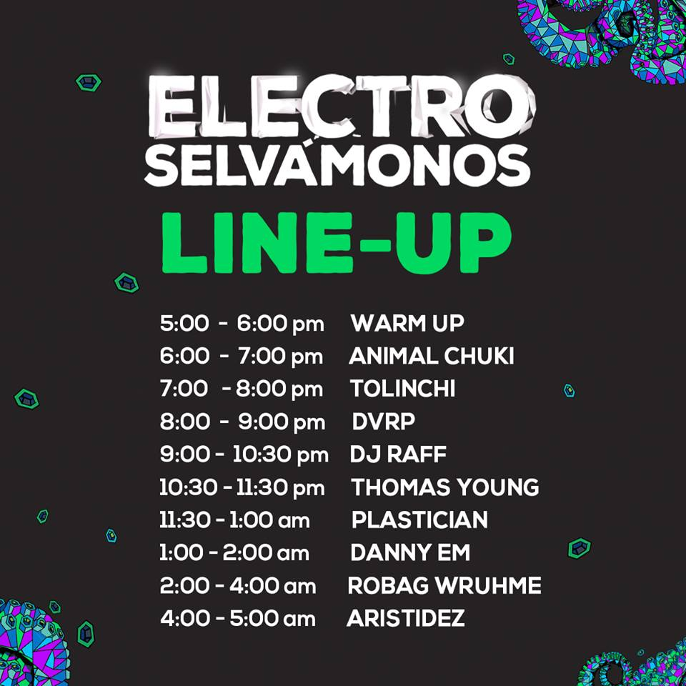electro line up