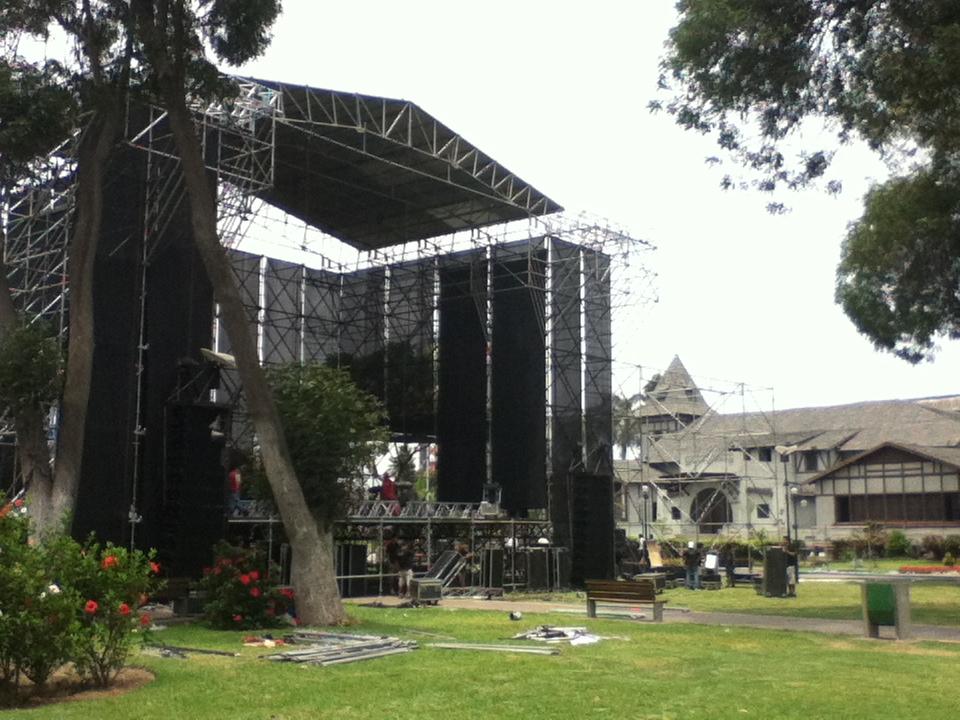 Escenario Festival de los 7 mares